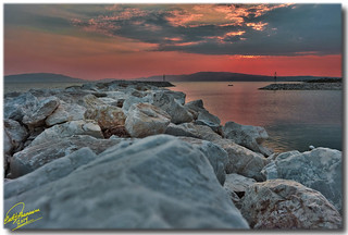 A Greek summer scene ... HDR