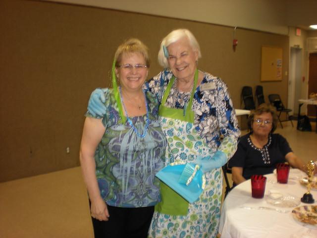 Sue West and Vivian Allen