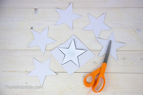 Cardboard Star Cut Outs