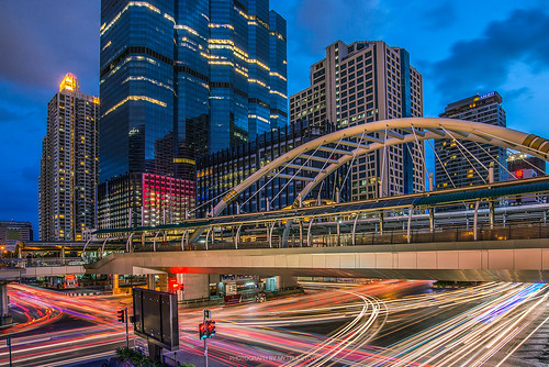 city longexposure travel bridge sky cloud buildings landscape thailand cityscape bangkok landmark journey citylights chong bts cityview citynight sathorn mytruestory nonsi mytruestoryphotography