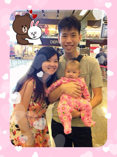 The Chewys at Changi Airport 24 Jul 2014
