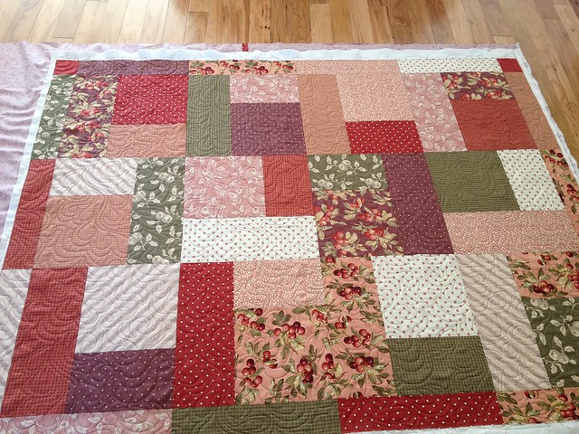 Donna's Sew for the Cure Quilt