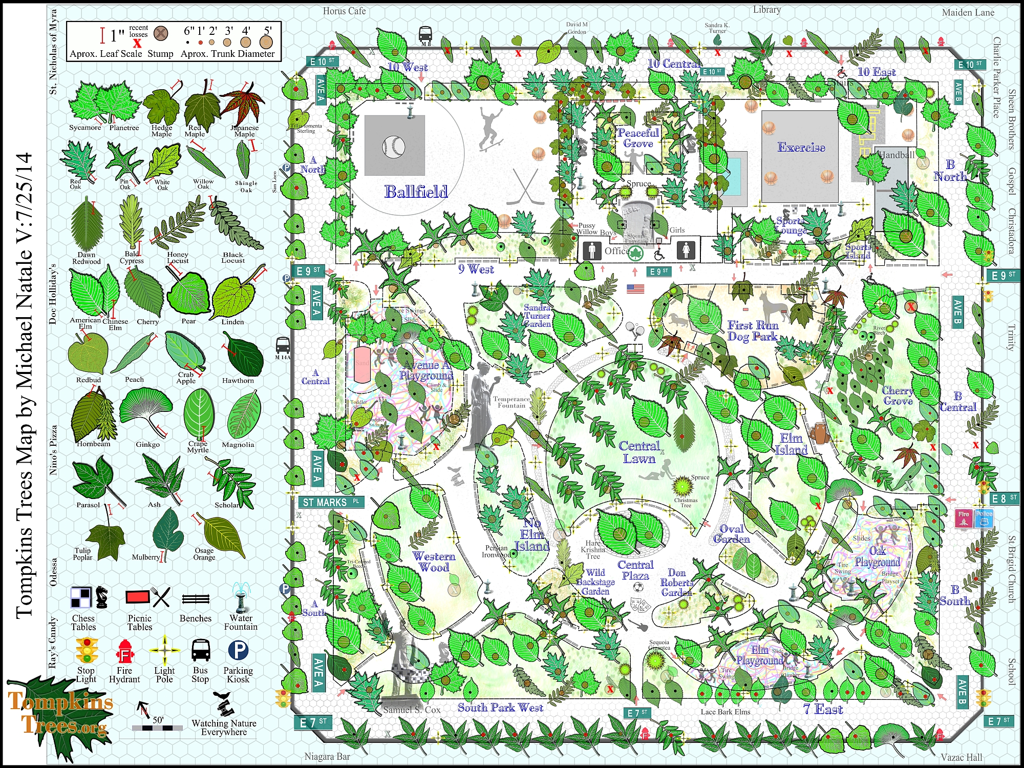 Tompkins Trees Map 7 25 14