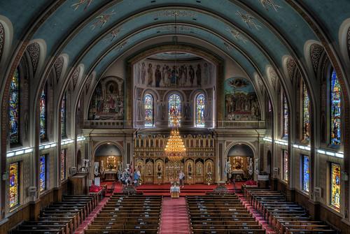 church winnipeg cathedral manitoba hdr stainedglasswindows ukrainiancatholiccathedral nikkor1024mm morrismulvey doorsopenwinnipeg2014 stsvladimirandolga