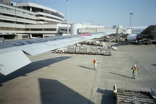 flight to Komatsu