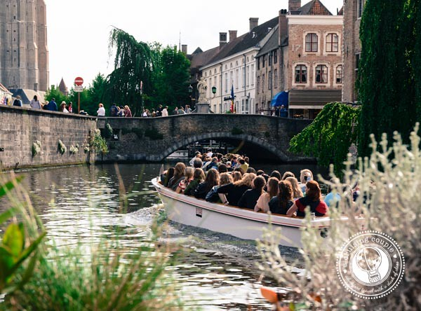Canals Bruges Belgium