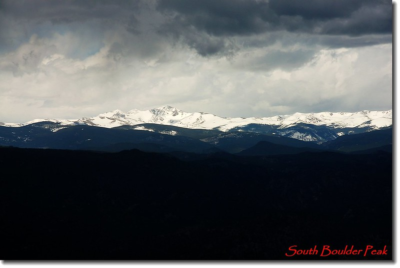 Indian Peaks, RMNP from the summit 4