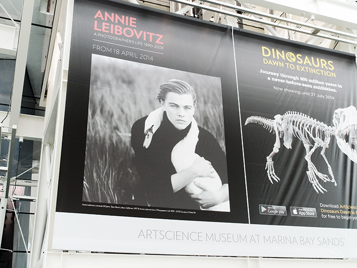 annie leibovitz exhibition poster