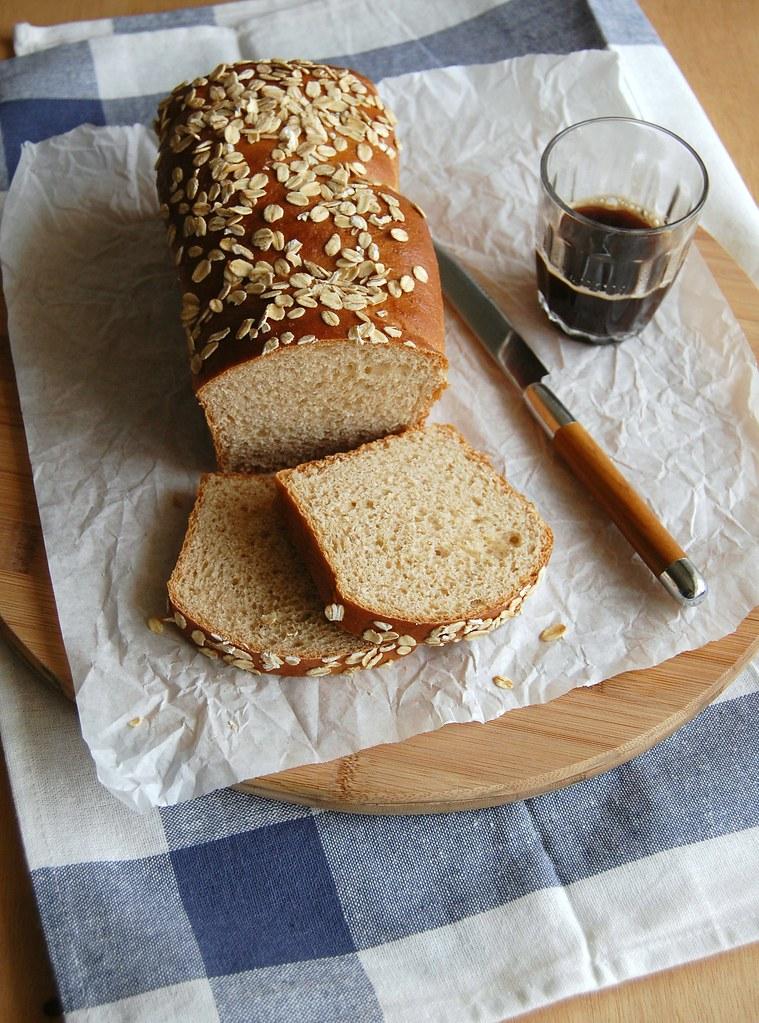 Vanilla and cinnamon bread / Pão de baunilha e canela