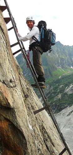 Mer de Glace Ladders