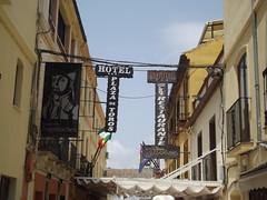 Plaza de Espana - Ronda - restaurntes and hotels