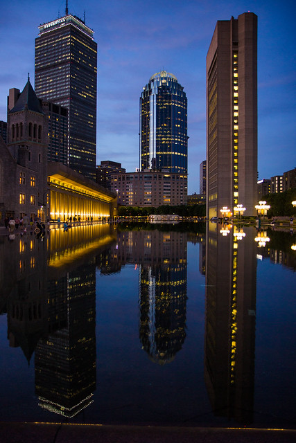 Back Bay Reflections