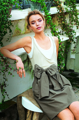 blog bow skirt