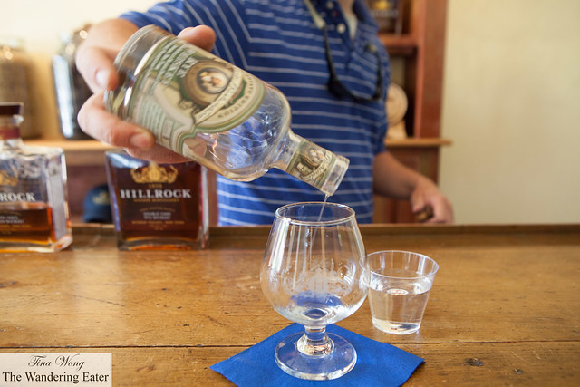 George Washington Rye Whiskey to taste