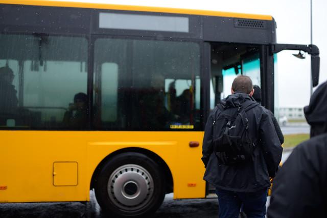 Bus to Keflavík