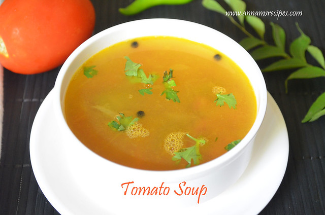 Tomato Soup (Chettinad)
