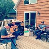 Back deck pickin' tonight! #practice #livemusic #ranchlife