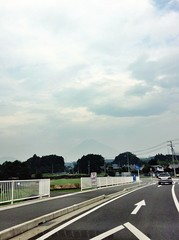 Pale Mt.Fuji 薄っすら富士山 7/24/2014