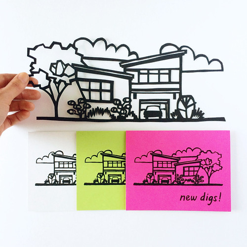 new digs card by vitamini