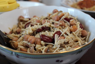 「菜食イタリアンレシピ編」2種類の豆ときのこのマリネ