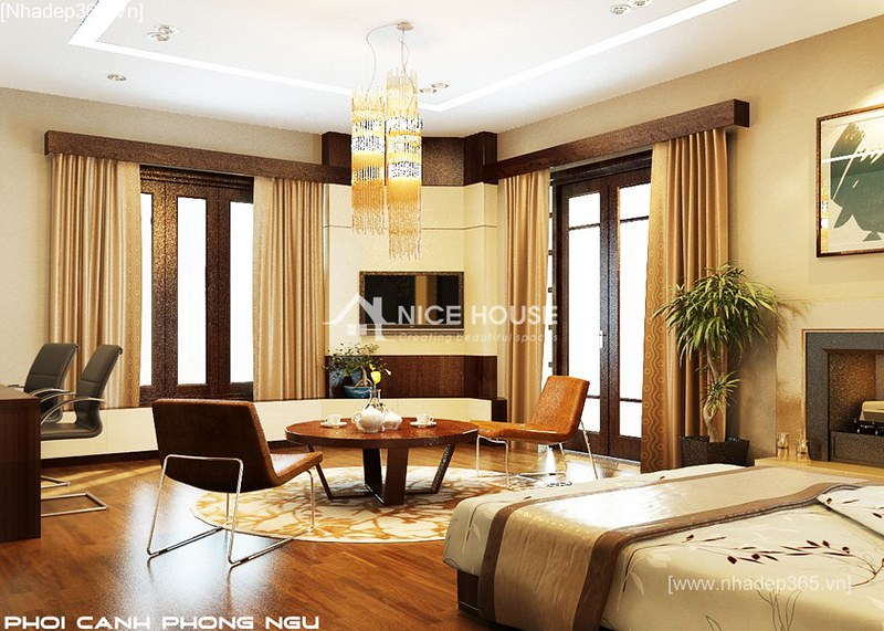 Thiết kế nội thất biệt thự Anh Sơn - Đông Anh_09