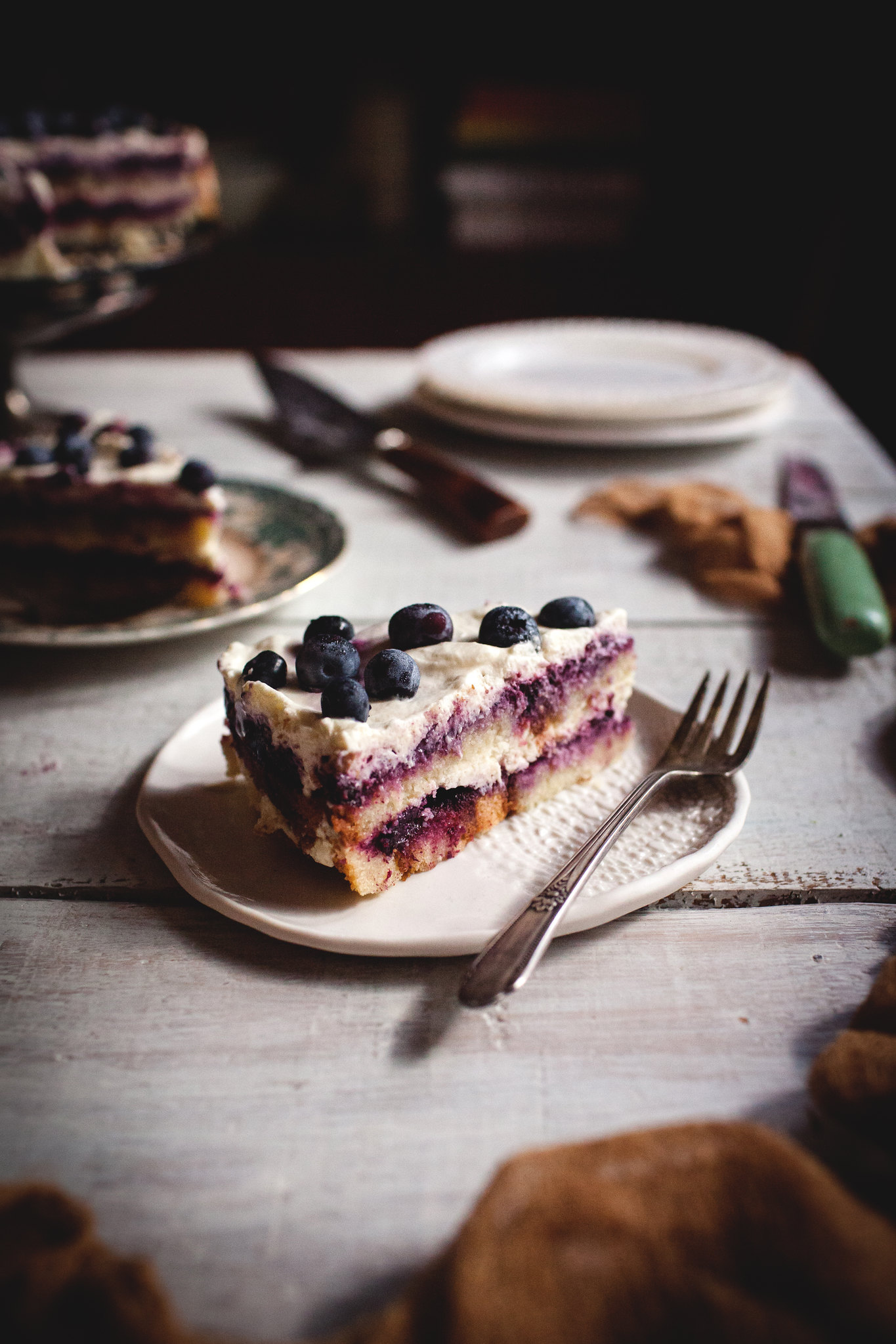 Berries & Cream Cake