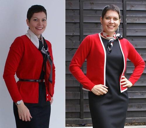 Outfit 1 comparison