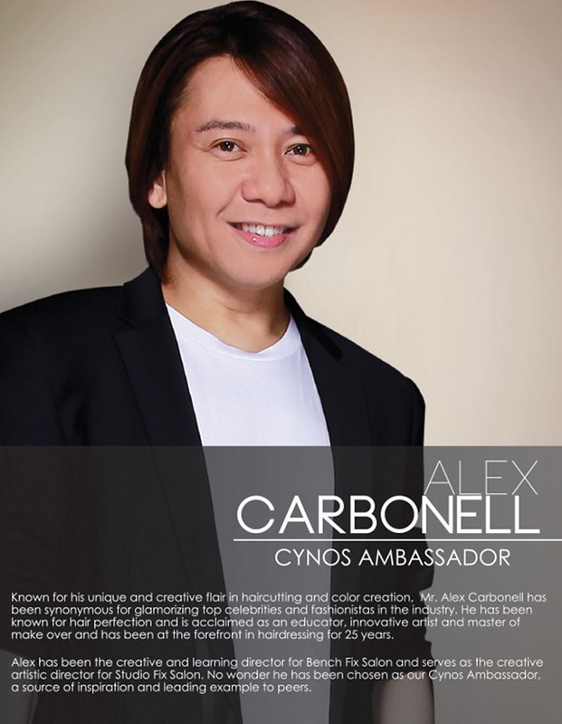 Alex Carbonell Ambassor for Cynos