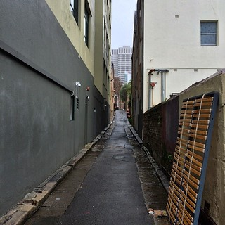 Surry Hills lanes in the rain 2