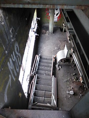 Urbex Malmö. 'Trap' naar 1e verdieping