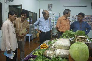 การมอบวุฒิบัตรแก่ผู้จบการอบรมเกษตรวัฒนธรรมรุ่นที่ 1