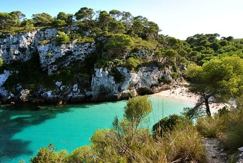 Cala en Turqueta/Macarella/ Macarelleta ( Menorca)