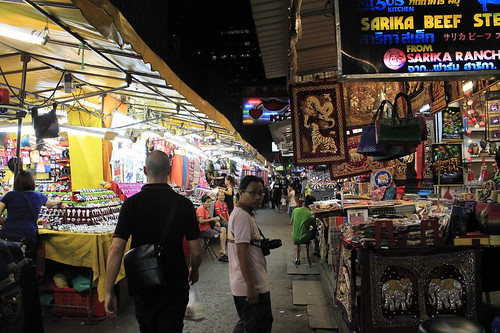 Roderick Ordoñez at Patpong Night Market