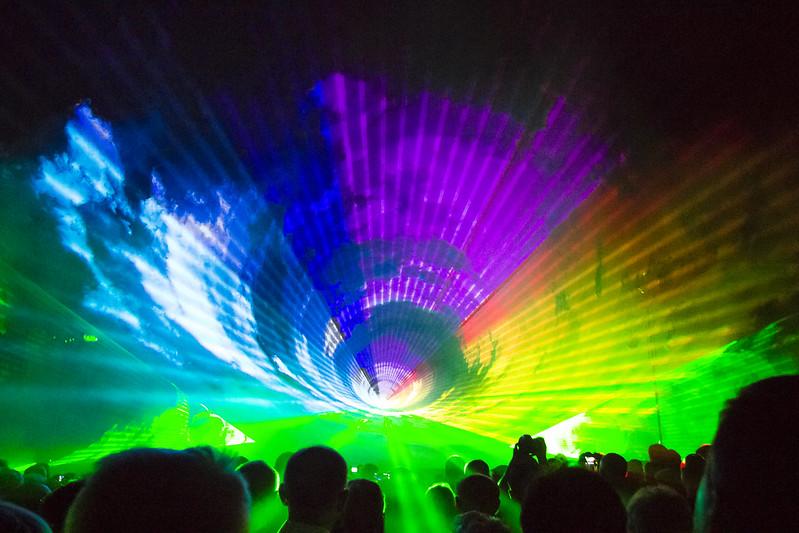 Kalisz Feniks laser show