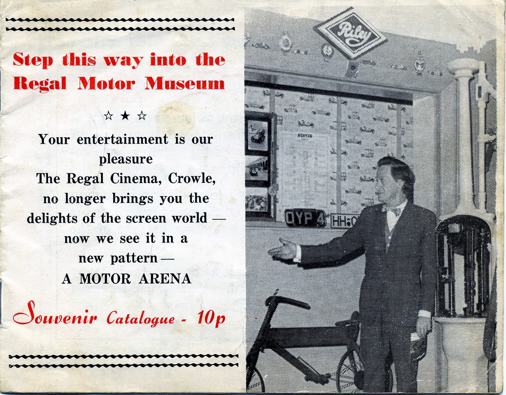 Regal Motor Museum Brochure 1