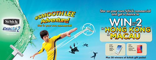 Adventure of a lifetime? You can with Schick's #SmoothLeeAdventure!