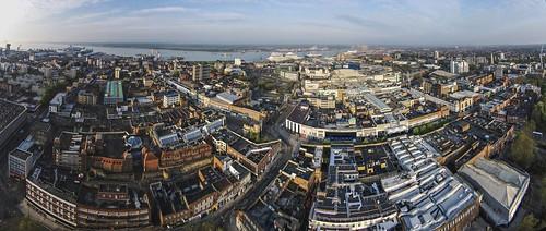 city centre aerial southampton