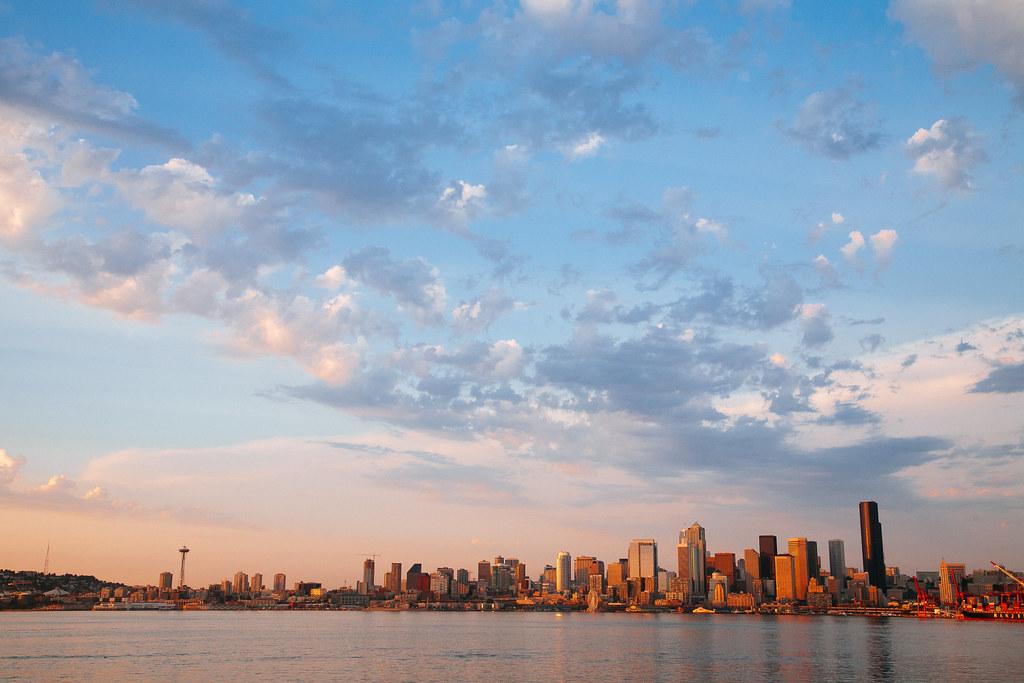 Seattle Sunset 06