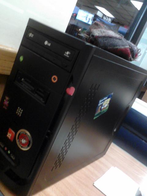 Good bye, computer...