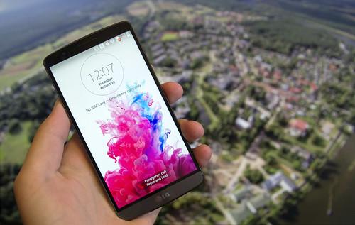 LG G3   svajonių telefonas su Android?