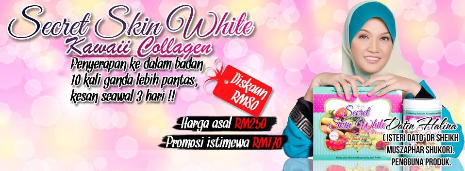 Secret Skin White Kawaii Collagen Rahsia Kulit Datin Dr. Halina