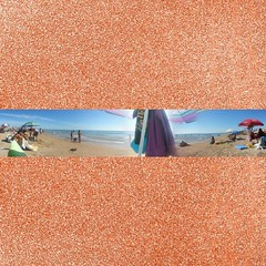 #Panorámica playera!! :-)  #ig #igers #igersguardamar #Instagram #Instagramers #Guardamar #alicante #alacant #Costablanca #MarMediterráneo #playa #beach #verano #verano2014 #sinfiltros #nofilter #panoramic #picoftheday #photooftheday