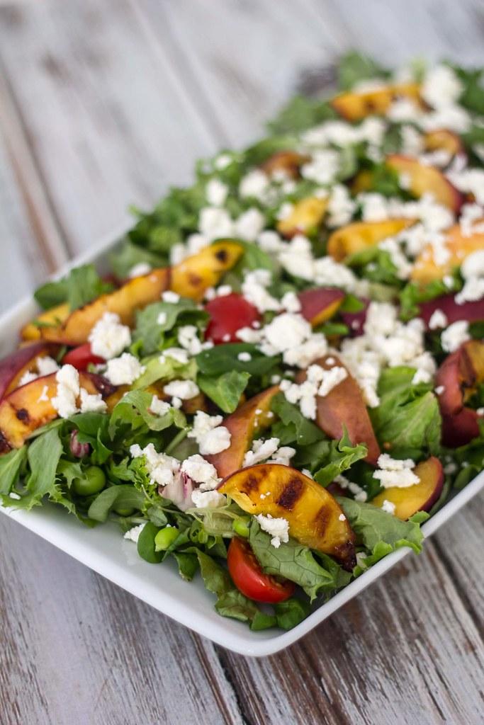 Salat med grillede nektariner (2)