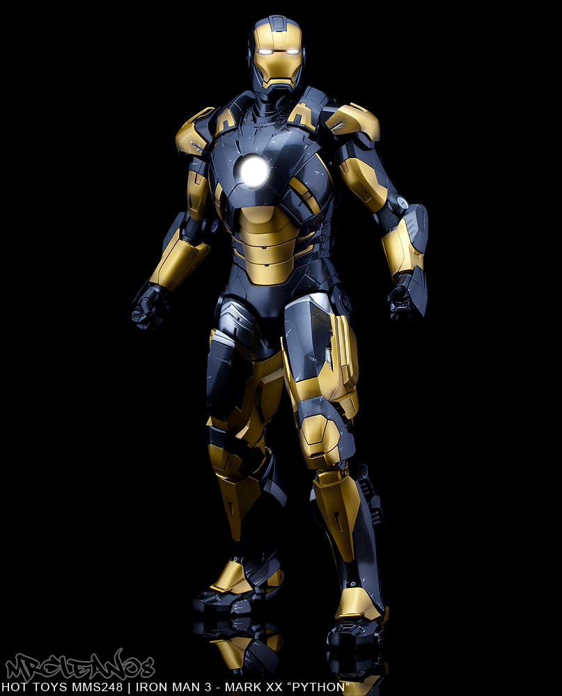 action figure 1/6 Hot Toys - MMS248 - Iron Man 3: 1/6th ...