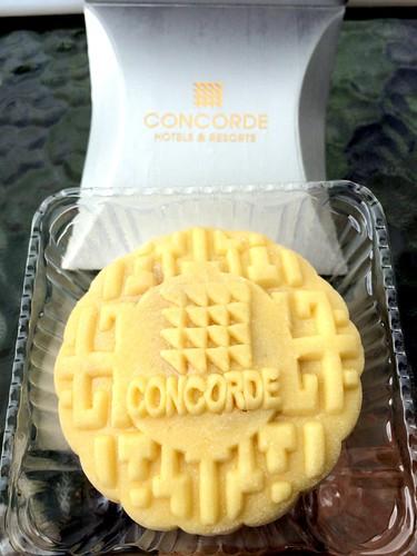 Concorde hotel KL best Durian mooncake 2014