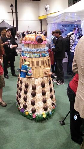 Tiki Dalek Invades Loncon