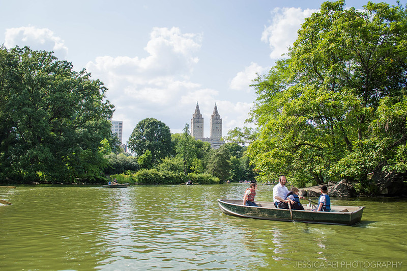 boating central park new york city