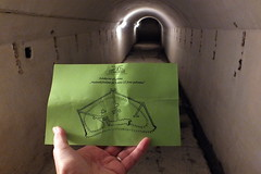 I must find the exit from the tunnel labyrinths