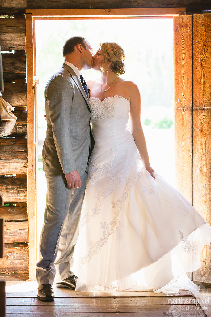 The Bride & Groom on their Wedding Day - Prince George BC