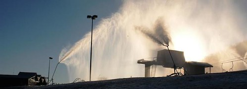 Song Mt. snowmaking